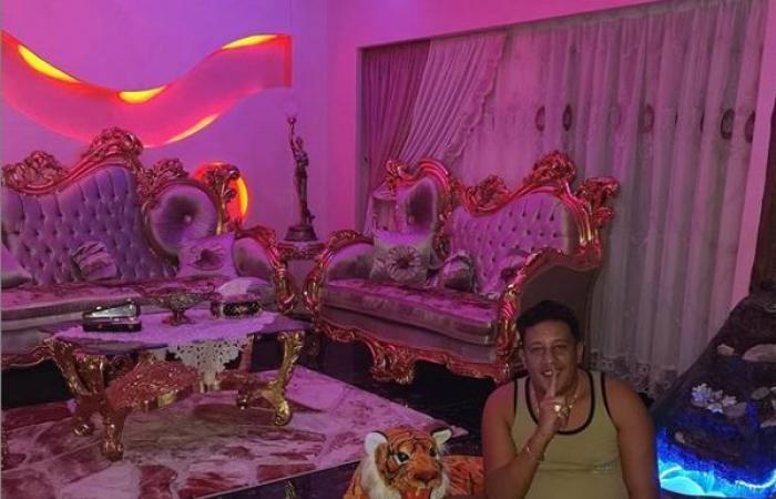 """#اليوم السابع - #فن - أول ظهور لحمو بيكا بمنزله بعد الزواج: """"ألف حمد وشكر على النعمة اللي أنا فيها"""""""