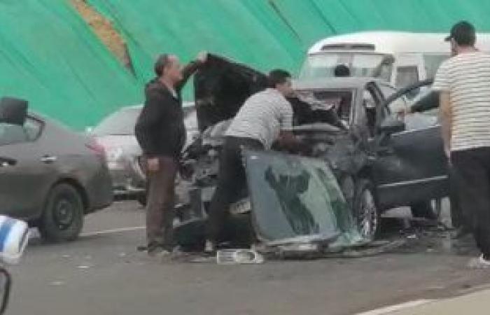 #اليوم السابع - #حوادث - إصابة 5 أشخاص في حادثين منفصلين بالداخلة والفرافرة