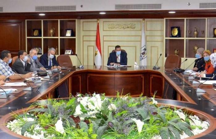 المصري اليوم - اخبار مصر- سكرتير عام بني سويف يبحث مستجدات استرداد أراضي الدولة موجز نيوز