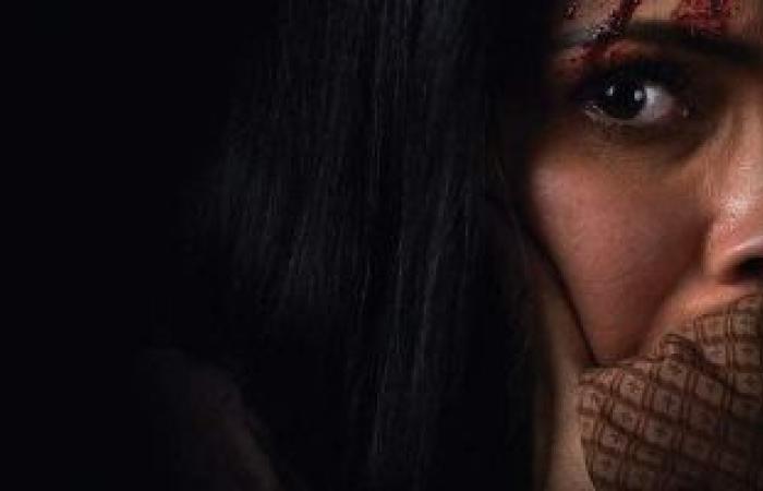 """#اليوم السابع - #فن - منى زكى تتعرض للعنف فى البوستر التشويقى لفيلم """"الصندوق الأسود"""""""