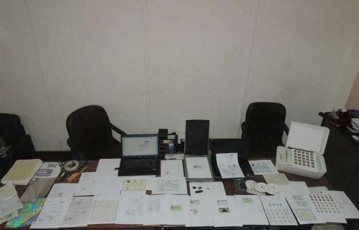 #المصري اليوم -#حوادث - ضبط صاحب مكتبة في المطرية بتهمة تزوير الاوراق الحكومية موجز نيوز