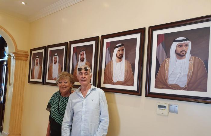 فيديو.. برج خليفة بدبي يحتضن خيمة «العرش» اليهودي