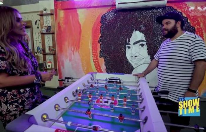 """#اليوم السابع - #فن - اعرف حكاية الفنان الكوميدى محمد عبد الرحمن مع الـ """"نينجا"""" فى زلزال 92"""