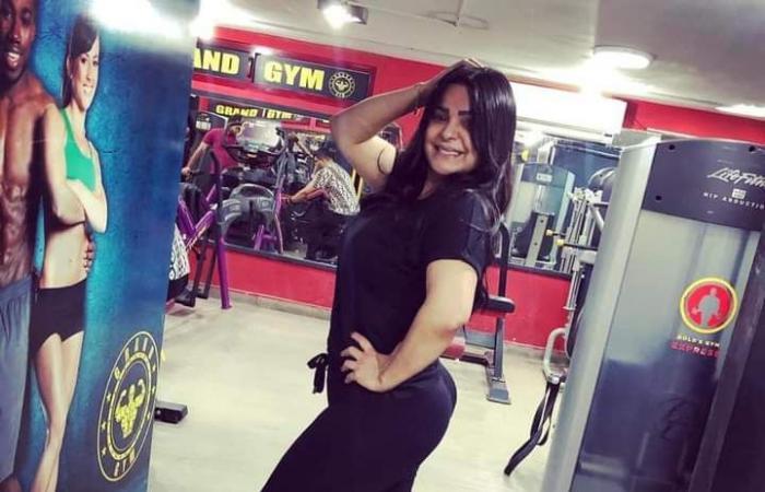 #اليوم السابع - #فن - المطربة الشعبية هدى عن زيادة وزنها: كورونا هى السبب وبقيت أروح الجيم