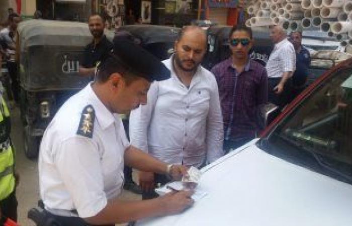 #اليوم السابع - #حوادث - تحرير 265 مخالفة مرورية متنوعة خلال حملة فى أسوان