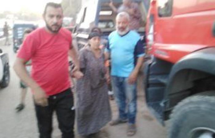 #اليوم السابع - #حوادث - نجاة مسنة من الموت رغم انهيار سقف منزل عليها فى طنطا .. صور