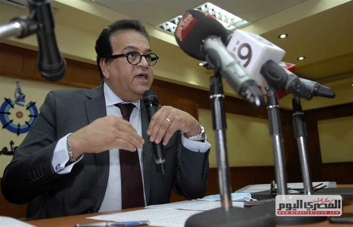المصري اليوم - اخبار مصر- وزير التعليم العالي يرد على شائعات تأجيل الدراسة والزي الموحد للجامعة ومنع الاختلاط موجز نيوز