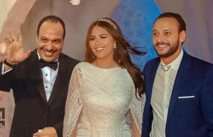 """#اليوم السابع - #فن - خالد صالح """"الحاضر الغائب"""" فى عقد قران نجله على هنادي مهني"""