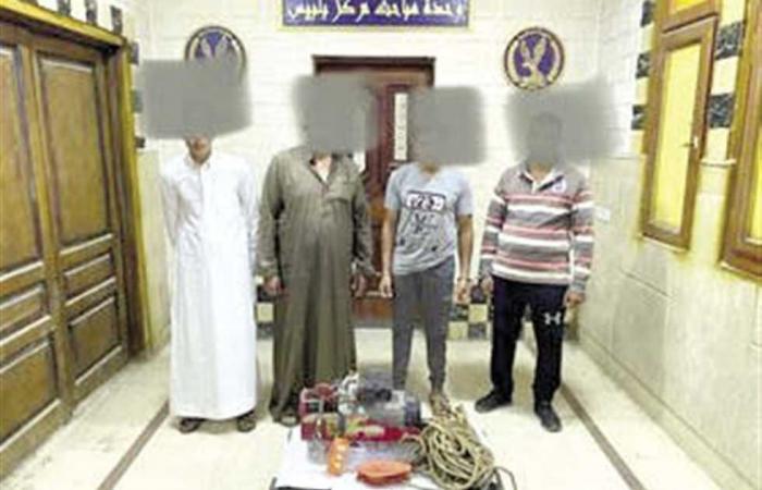 #المصري اليوم -#حوادث - 4 متهمين تخلصوا من نجار بسبب التنقيب عن الآثار موجز نيوز