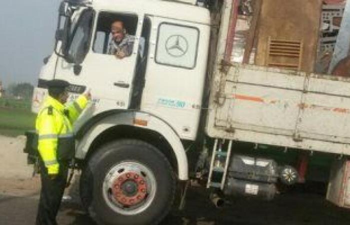 #اليوم السابع - #حوادث - المرور يضبط 4827 مخالفة متنوعة فى حملات على الطرق السريعة خلال 24 ساعة