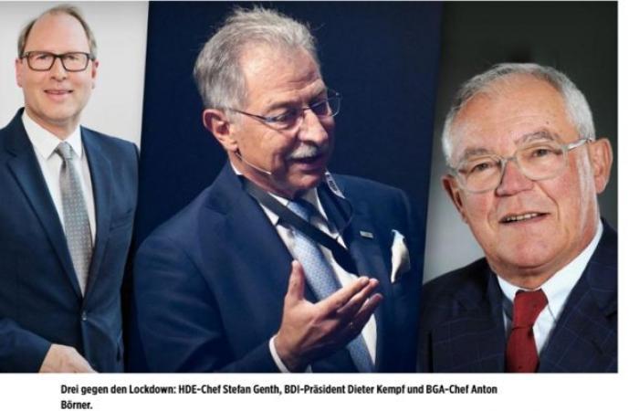 بيلد: إغلاق مجددا بسبب «كورونا» يعني إعدام الاقتصاد الألماني