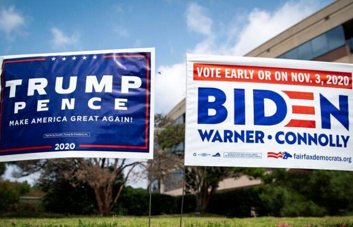 استطلاع: تقدم بايدن على ترامب في ميشيجان وتقاربهما بنورث كارولاينا