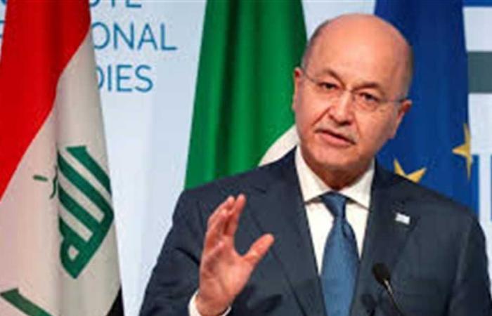 #المصري اليوم -#اخبار العالم - الرئيس العراقي يحذر من خطر الفساد في تغذية العنف والإرهاب موجز نيوز