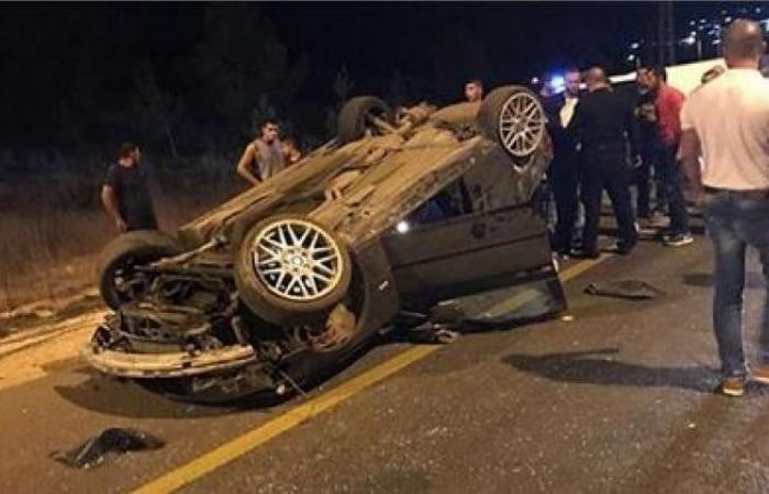 الوفد -الحوادث - إصابة شخصين إثر انقلاب سيارة بمركز إدفو في أسوان موجز نيوز