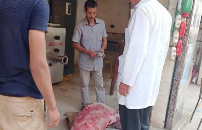 المصري اليوم - اخبار مصر- ضبط لحوم مذبوحة خارج المجزر في حملة بطوخ (صور) موجز نيوز