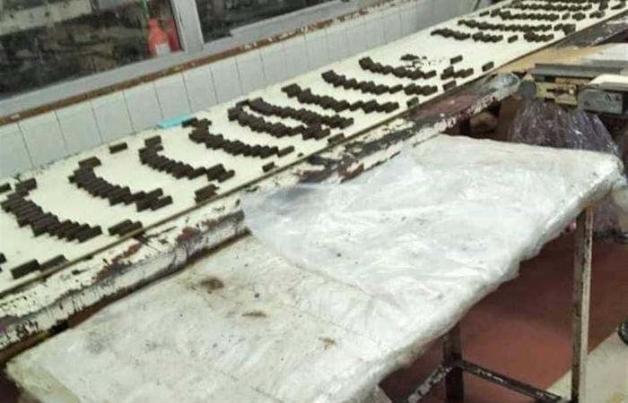 #المصري اليوم -#حوادث - ضبط 42 طن «حلوى ومواد خام» بـ 5 مصانع مخالفة في القليوبية موجز نيوز