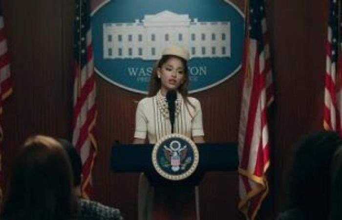 #اليوم السابع - #فن - هكذا أصبحت إريانا جراند رئيسة الولايات المتحدة الامريكية..شوف الفيديو والصور