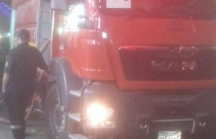 #اليوم السابع - #حوادث - السيطرة على حريق بمخازن أدوات صحية بالعاشر من رمضان