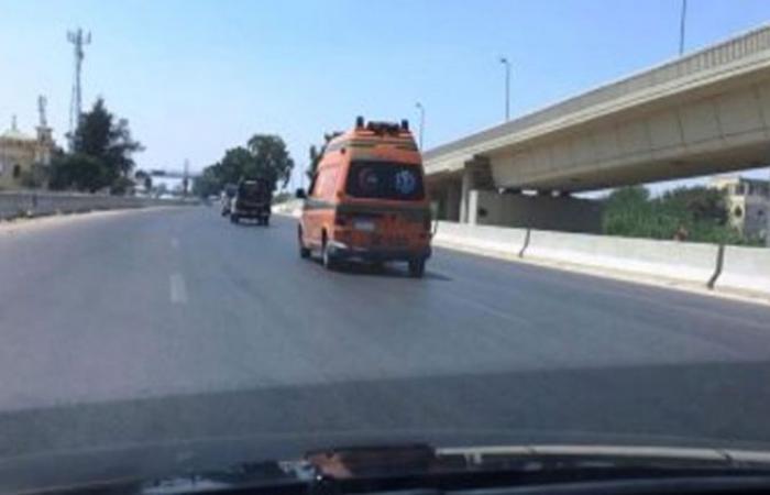 الوفد -الحوادث - مصرع فتاة صدمتها سيارة فى طريق السويس الصحراوى موجز نيوز