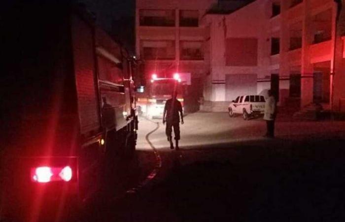 #المصري اليوم -#حوادث - السيطرة على حريق فوق سطح مسجد المدرسة التجارية بكفر شكر موجز نيوز