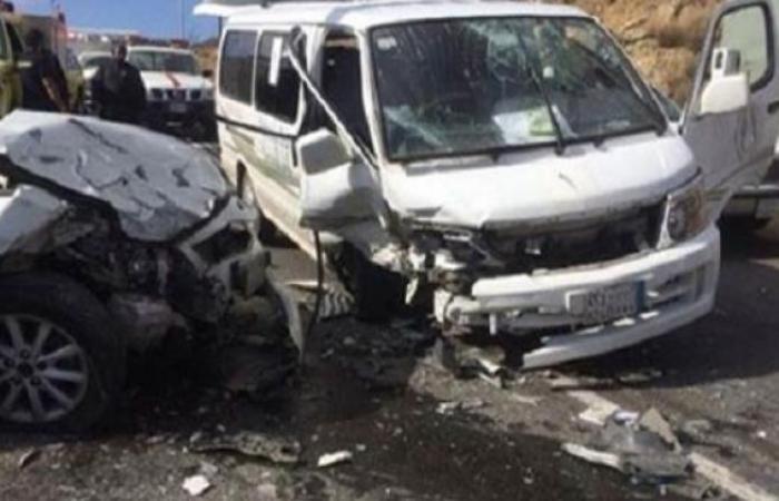 الوفد -الحوادث - مصرع شابين إثرحادث تصادم بسوهاج موجز نيوز