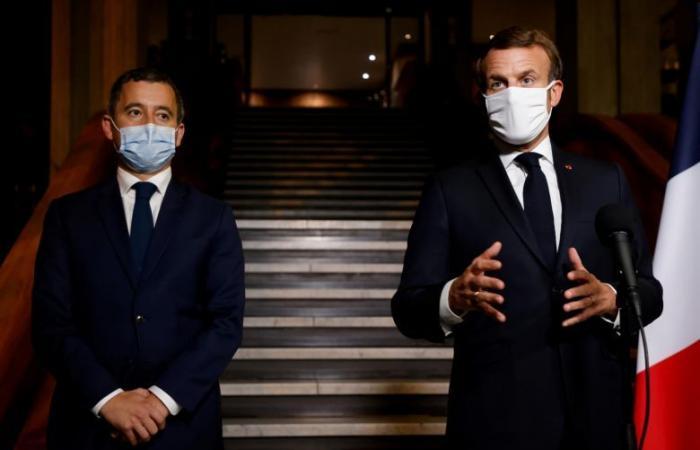 على خطى ماكرون.. وزير داخلية فرنسا يستفز المسلمين