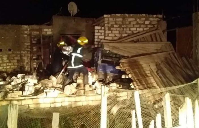 #المصري اليوم -#حوادث - انهيار عقار بـ«قرية هور» في ملوي بالمنيا دون أضرار بشرية موجز نيوز