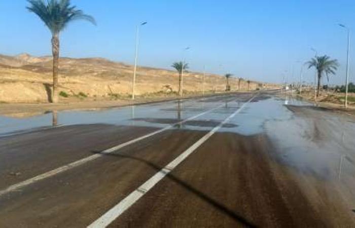 اخبار السياسه فتح جميع الطرق بجنوب سيناء عقب تحسن الأحوال الجوية