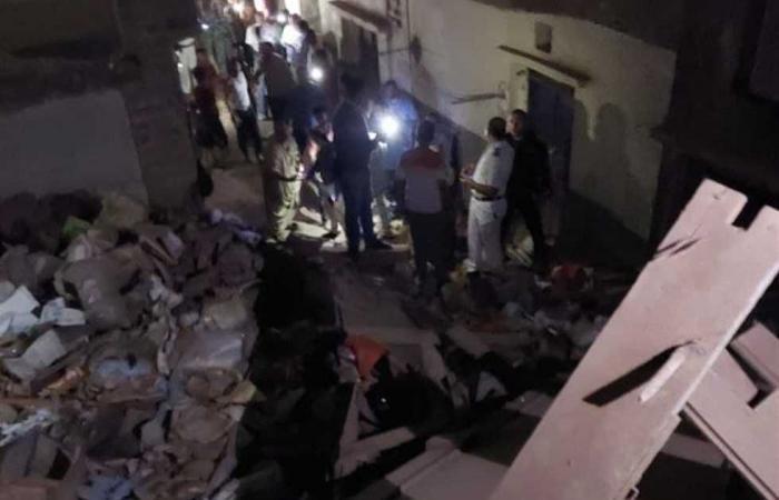 #المصري اليوم -#حوادث - انهيار جزئي بعقار بمدينة المنيا دون أضرار بشرية موجز نيوز