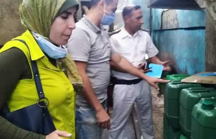 #المصري اليوم -#حوادث - تشميع مصنع لإنتاج المبيدات دون ترخيص وضبط 3 محال مخالفة في الإسكندرية (صور) موجز نيوز