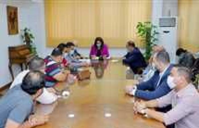 المصري اليوم - اخبار مصر- محافظ دمياط تتفقد مشروع الإسكان الاجتماعي بعزبة البرج (صور) موجز نيوز