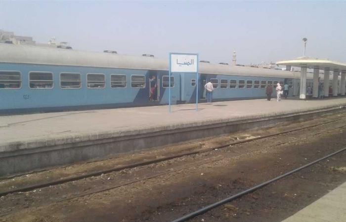 المصري اليوم - اخبار مصر- قطار الصعيد يدهس سيدة أثناء عبورها المزلقان بمحطة ببا في بني سويف موجز نيوز