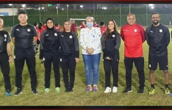 الوفد رياضة - منتخب مصر للسيدات يواصل التدريب استعدادًا لتصفيات أمم أفريقيا موجز نيوز