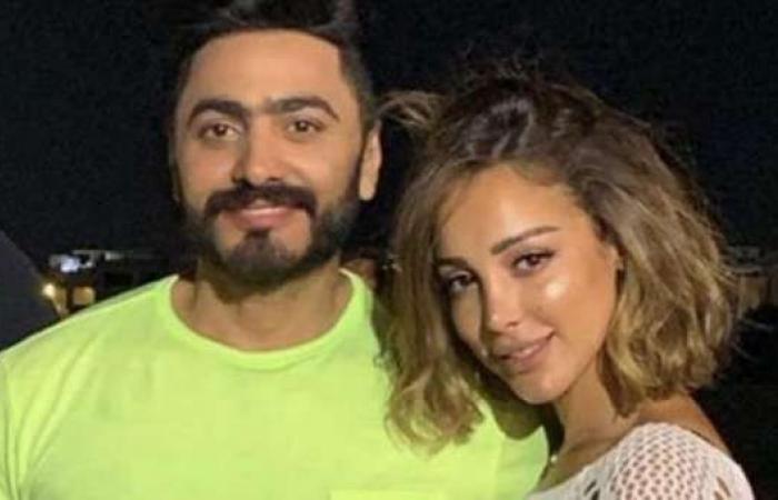 اخبار السياسه زينة وسيط الصلح بين تامر حسني وزوجته بسمة بوسيل