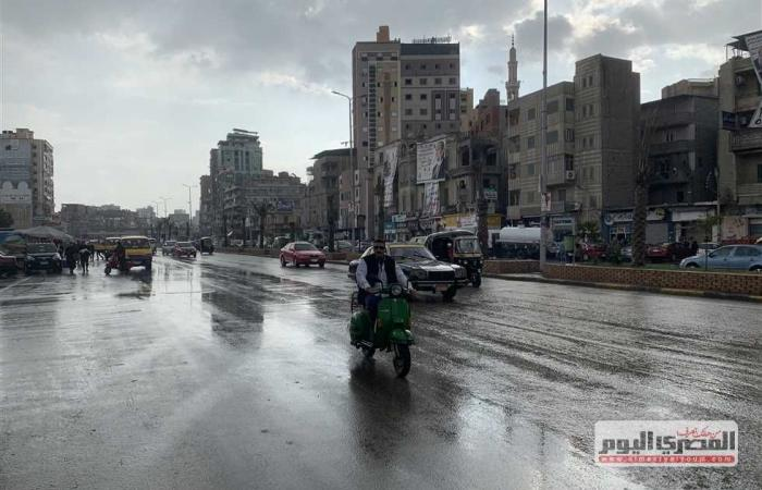 المصري اليوم - اخبار مصر- أمطار خفيفة ومتوسطة وغزيرة الخميس.. تعرف على طقس الـ3 أيام المقبلة موجز نيوز