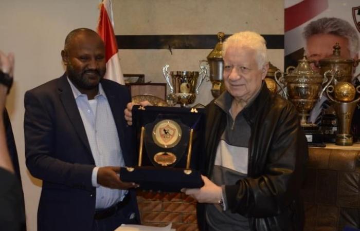مرتضى منصور: أرحب بسوبر وادي النيل أم الهلال السوداني