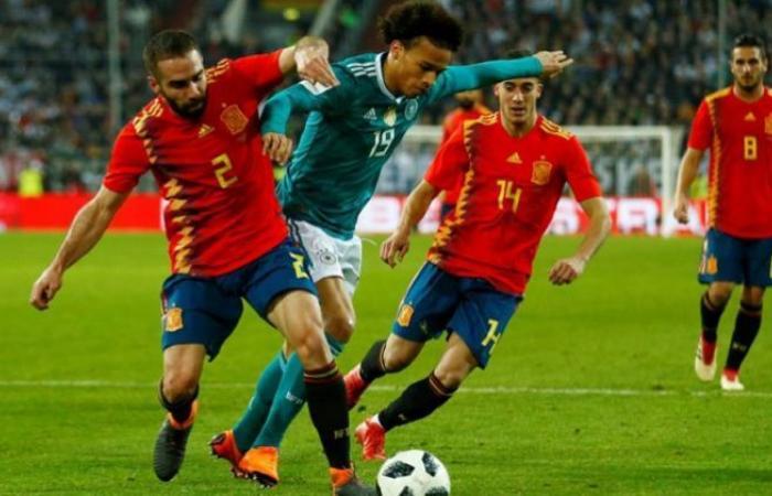 الوفد رياضة - مشاهدة مباراة اسبانيا والمانيا بث مباشر اليوم 17/11/2020 في دوري الأمم الأوروبية موجز نيوز