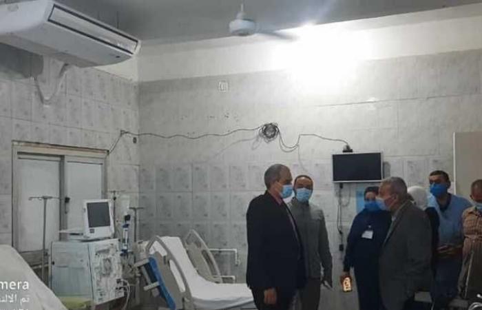 المصري اليوم - اخبار مصر- مرور وتفتيش مفاجئ لمستشفى رأس غارب المركزي موجز نيوز