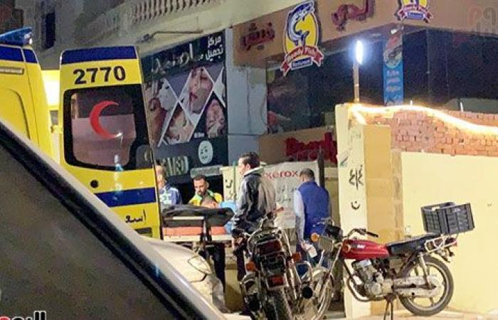 #اليوم السابع - #حوادث - انفراد.. لحظة استخراج جثث ضحايا قاتل والدته وشقيقه بحدائق الأهرام.. فيديو