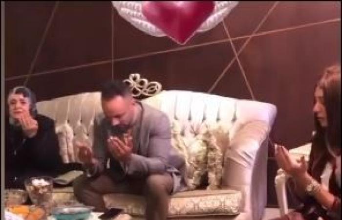 #اليوم السابع - #فن - أول صور لخطوبة المذيعة ميرنا الهلباوى والمطرب محمد عطية