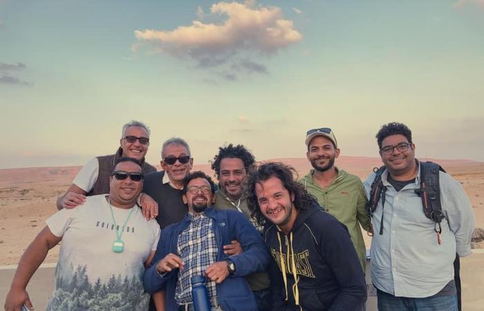"""#اليوم السابع - #فن - منى زكى وأحمد السعدنى × 5 صور من كواليس """"ما تقولش لحد"""" حكاية مسلسل """"نمرة 2"""""""