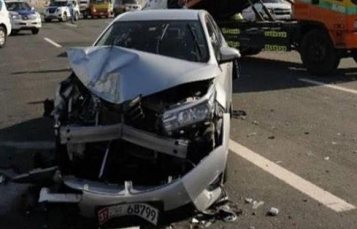 الوفد -الحوادث - التحقيق في إصابة 6 أشخاص إثر حادث تصادم بمدينة نصر موجز نيوز