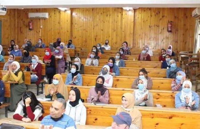 المصري اليوم - اخبار مصر- ندوة بكلية التربية بالغردقة لتحفيز الطلاب للمشاركة في المشروع القومي لمحو الأمية موجز نيوز