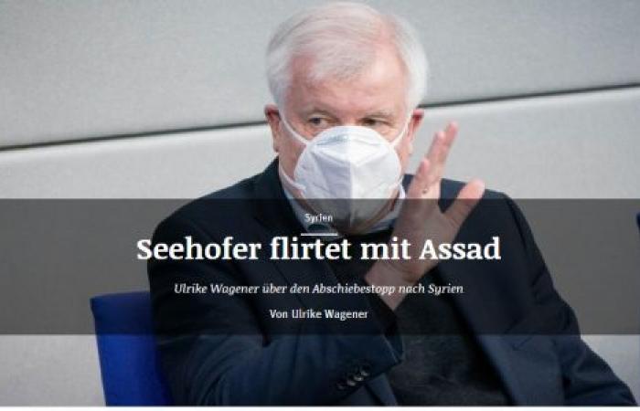 صحيفة ألمانية: برلين تغازل «الأسد» على حساب اللاجئين