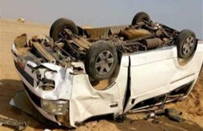 #المصري اليوم -#حوادث - مصرع 3 أشخاص وإصابة 11 آخرين في انقلاب ميكروباص بأسوان موجز نيوز