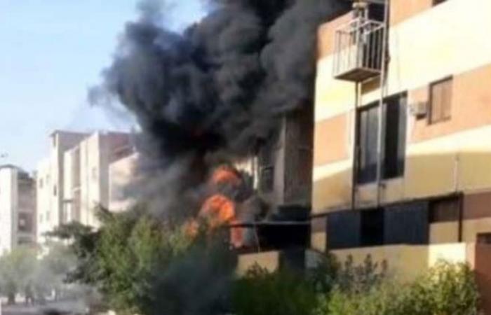 الوفد -الحوادث - 15 مصابا فى حريق مصنع للكيماويات بالعاشر من رمضان موجز نيوز