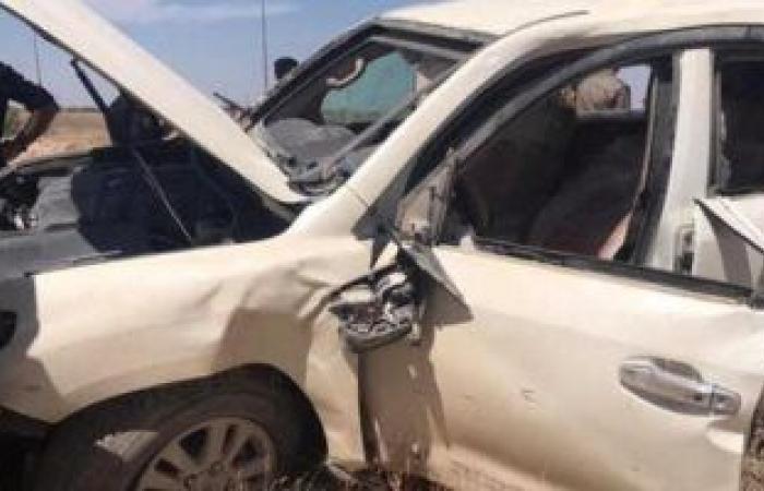 #اليوم السابع - #حوادث - إصابة 5 أشخاص فى حادث تصادم بطريق ديرب نجم- ميت غمر  بالشرقية