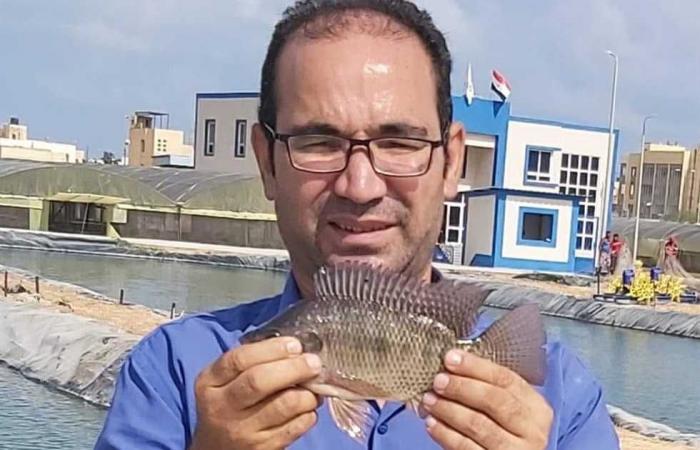 المصري اليوم - اخبار مصر- دورة تدريبية في كيفية إقامة مشروع للاستزراع السمكي بشمال سيناء موجز نيوز