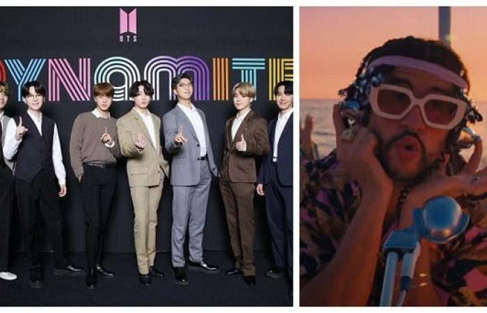 #اليوم السابع - #فن - لازم يكون بيعرف يرقص.. شرط تعاون باد بانى مع الفريق الكورى BTS فى أغنية جديدة