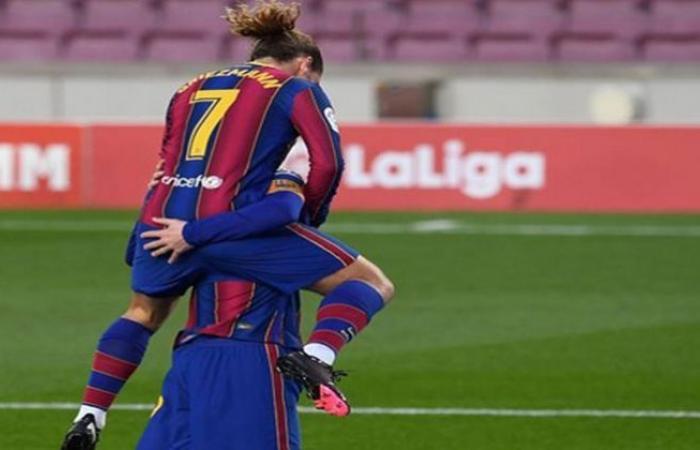 الوفد رياضة - برشلونة يتقدم على فرينكفاروزي بثلاثية في الشوط الأول موجز نيوز